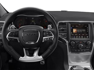 2014 Jeep Grand Cherokee Pictures Grand Cherokee Utility 4D SRT-8 4WD photos driver's dashboard