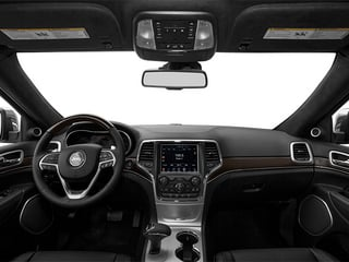 2014 Jeep Grand Cherokee Pictures Grand Cherokee Utility 4D Summit Diesel 2WD photos full dashboard