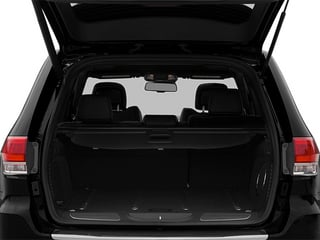 2014 Jeep Grand Cherokee Pictures Grand Cherokee Utility 4D Summit 4WD photos open trunk
