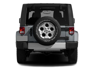 2014 Jeep Wrangler Pictures Wrangler Utility 2D Rubicon 4WD V6 photos rear view