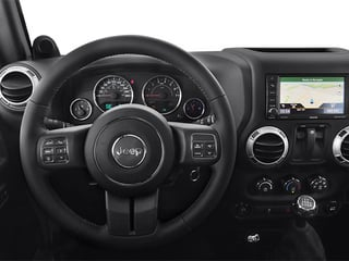 2014 Jeep Wrangler Pictures Wrangler Utility 2D Rubicon 4WD V6 photos driver's dashboard