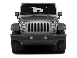2014 Jeep Wrangler Unlimited Pictures Wrangler Unlimited Utility 4D Unlimited Altitude 4WD V6 photos front view