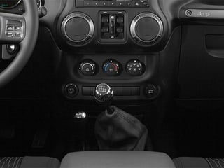 2014 Jeep Wrangler Unlimited Pictures Wrangler Unlimited Utility 4D Unlimited Rubicon 4WD V6 photos center console
