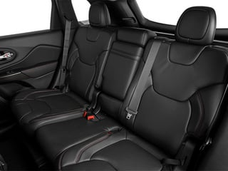 2014 Jeep Cherokee Pictures Cherokee Utility 4D Trailhawk 4WD photos backseat interior