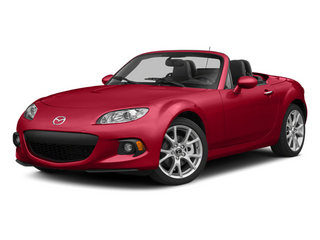 2014 Mazda MX-5 Miata Pictures MX-5 Miata Convertible 2D Sport I4 photos side front view