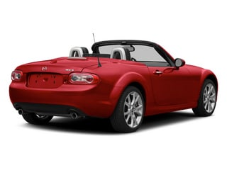 2014 Mazda MX-5 Miata Pictures MX-5 Miata Convertible 2D Club I4 photos side rear view