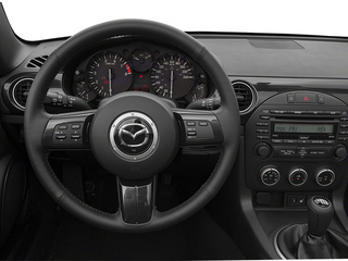 2014 Mazda MX-5 Miata Pictures MX-5 Miata Convertible 2D Club I4 photos driver's dashboard