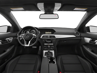 2014 Mercedes-Benz C-Class Pictures C-Class Coupe 2D C250 I4 Turbo photos full dashboard