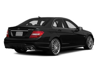 2014 Mercedes-Benz C-Class Pictures C-Class Sport Sedan 4D C63 AMG photos side rear view