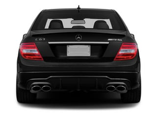 2014 Mercedes-Benz C-Class Pictures C-Class Sport Sedan 4D C63 AMG photos rear view