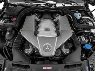 2014 Mercedes-Benz C-Class Pictures C-Class Sport Sedan 4D C63 AMG photos engine