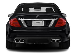 2014 Mercedes-Benz CL-Class Pictures CL-Class Coupe 2D CL63 AMG V8 Turbo photos rear view