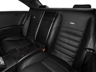 2014 Mercedes-Benz CL-Class Pictures CL-Class Coupe 2D CL63 AMG V8 Turbo photos backseat interior