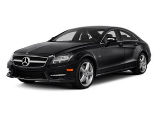 2014 Mercedes-Benz CLS-Class Pictures CLS-Class Sedan 4D CLS550 photos side front view
