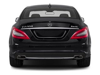 2014 Mercedes-Benz CLS-Class Pictures CLS-Class Sedan 4D CLS550 photos rear view