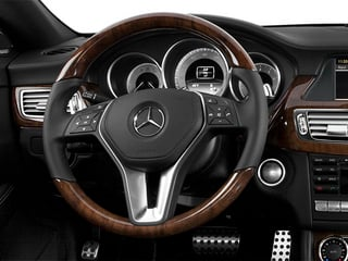 2014 Mercedes-Benz CLS-Class Pictures CLS-Class Sedan 4D CLS550 photos driver's dashboard