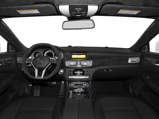 2014 Mercedes-Benz CLS-Class Pictures CLS-Class Sedan 4D CLS63 AMG S AWD photos full dashboard