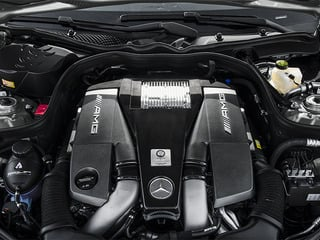 2014 Mercedes-Benz E-Class Pictures E-Class Wagon 4D E63 AMG S AWD V8 Turbo photos engine