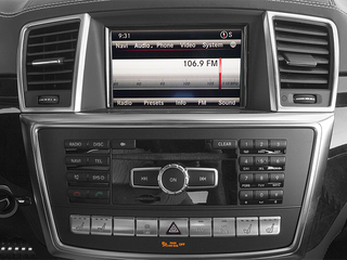 2014 Mercedes-Benz GL-Class Pictures GL-Class Utility 4D GL63 AMG 4WD V8 photos stereo system