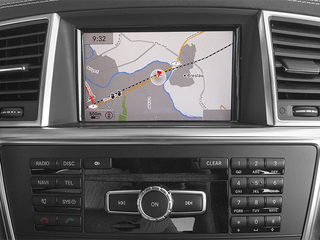 2014 Mercedes-Benz GL-Class Pictures GL-Class Utility 4D GL63 AMG 4WD V8 photos navigation system