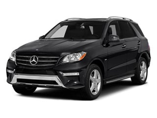 2014 Mercedes-Benz M-Class Pictures M-Class Utility 4D ML550 AWD V8 Turbo photos side front view