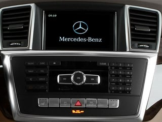 2014 Mercedes-Benz M-Class Pictures M-Class Utility 4D ML350 2WD V6 photos stereo system