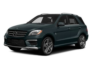 2014 Mercedes-Benz M-Class Pictures M-Class Utility 4D ML63 AMG AWD photos side front view