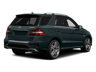 2014 Mercedes-Benz M-Class Pictures M-Class Utility 4D ML63 AMG AWD photos side rear view