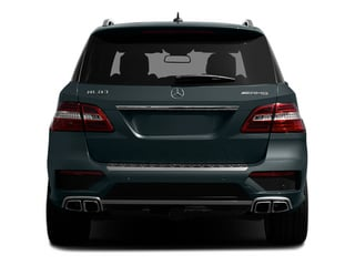 2014 Mercedes-Benz M-Class Pictures M-Class Utility 4D ML63 AMG AWD photos rear view