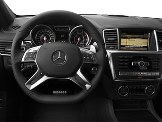 2014 Mercedes-Benz M-Class Pictures M-Class Utility 4D ML63 AMG AWD photos driver's dashboard