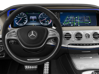2014 Mercedes-Benz S-Class Pictures S-Class Sedan 4D S63 AMG AWD V8 Turbo photos driver's dashboard
