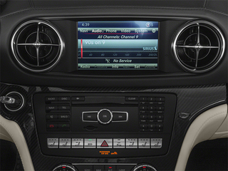 2014 Mercedes-Benz SL-Class Pictures SL-Class 2 Door Roadster photos stereo system