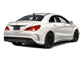 2014 Mercedes-Benz CLA-Class Pictures CLA-Class Sedan 4D CLA45 AMG AWD I4 Turbo photos side rear view
