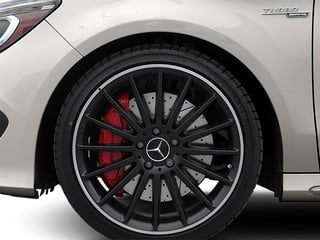 2014 Mercedes-Benz CLA-Class Pictures CLA-Class Sedan 4D CLA45 AMG AWD I4 Turbo photos wheel
