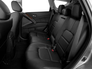 2014 Nissan Murano Pictures Murano Utility 4D LE AWD V6 photos backseat interior