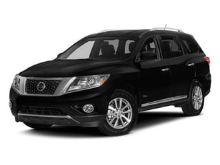 2014 Nissan Pathfinder Pictures Pathfinder Utility 4D Platinum 2WD I4 Hybrid photos side front view