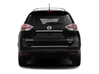 2014 Nissan Rogue Pictures Rogue Utility 4D SL AWD I4 photos rear view