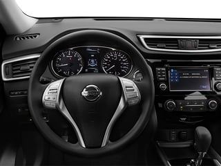 2014 Nissan Rogue Pictures Rogue Utility 4D SL AWD I4 photos driver's dashboard