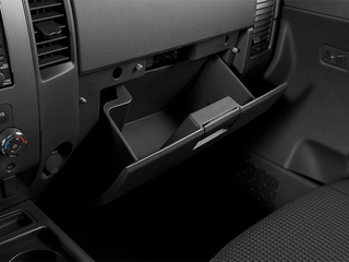 2014 Nissan Titan Pictures Titan King Cab S 4WD photos glove box
