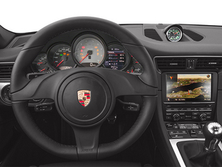 2014 Porsche 911 Pictures 911 Coupe 2D Turbo AWD H6 photos driver's dashboard