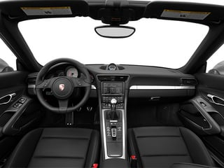 2014 Porsche 911 Pictures 911 Cabriolet 2D 4 AWD H6 photos full dashboard