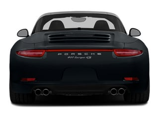 2014 Porsche 911 Pictures 911 Coupe 2D 4 Targa AWD photos rear view