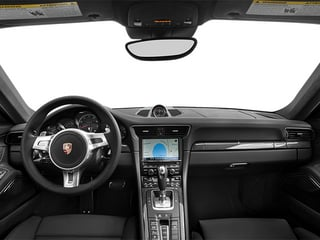 2014 Porsche 911 Pictures 911 Coupe 2D Turbo S AWD H6 photos full dashboard