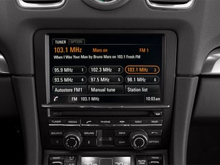 2014 Porsche Cayman Pictures Cayman Coupe 2D S H6 photos stereo system