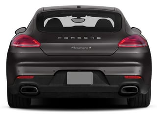 2014 Porsche Panamera Pictures Panamera Hatchback 4D S AWD V8 Turbo photos rear view