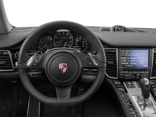 2014 Porsche Panamera Pictures Panamera Hatchback 4D S AWD V8 Turbo photos driver's dashboard
