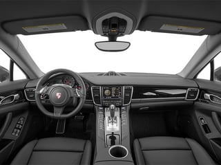 2014 Porsche Panamera Pictures Panamera Hatchback 4D S V6 Turbo photos full dashboard