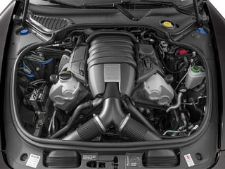 2014 Porsche Panamera Pictures Panamera Hatchback 4D S V6 Turbo photos engine
