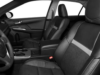 2014 Toyota Camry Pictures Camry Sedan 4D LE I4 photos front seat interior
