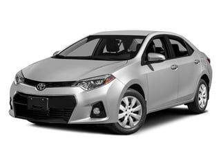 2014 Toyota Corolla Pictures Corolla Sedan 4D S I4 photos side front view